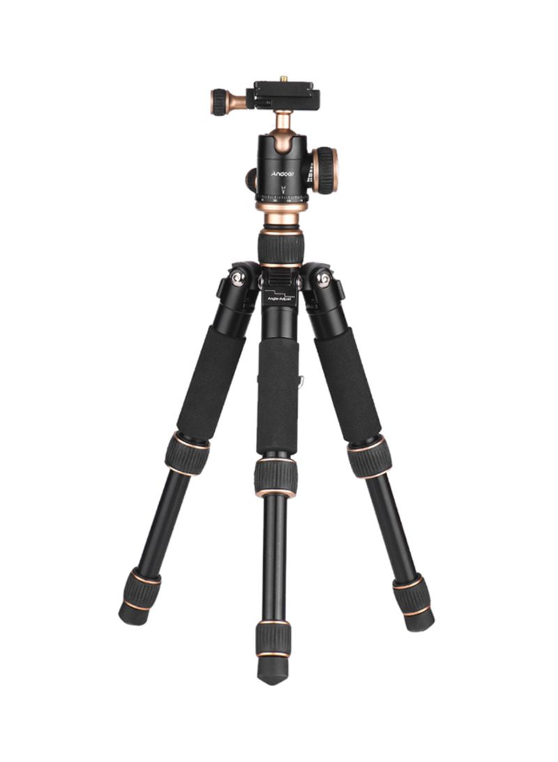 Mini Tabletop Tripod For DSLR And Camcorders Black