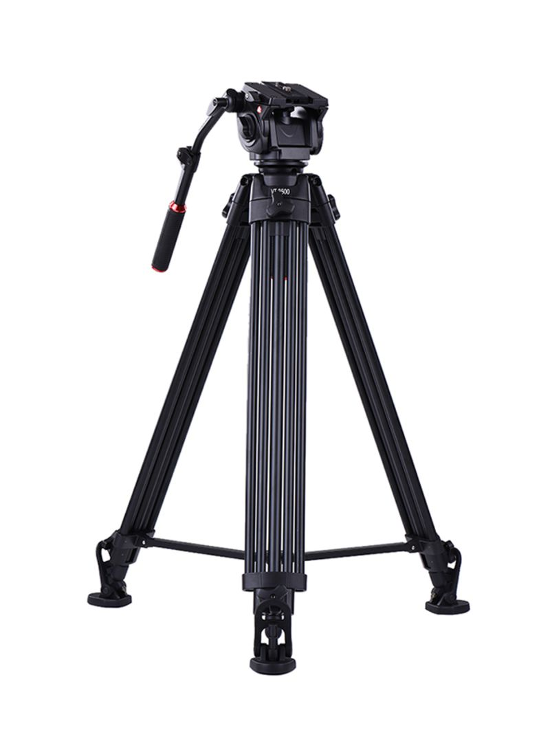 Tripod For DSLR And Camcorders Black
