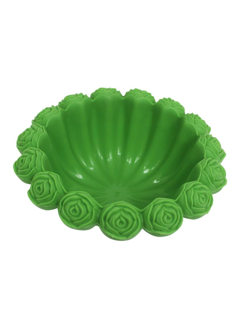 Silicone Bakeware Mould Green 16x6x16 centimeter