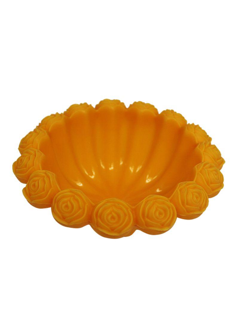 Silicone Bakeware Mould Orange 16x6x16 centimeter