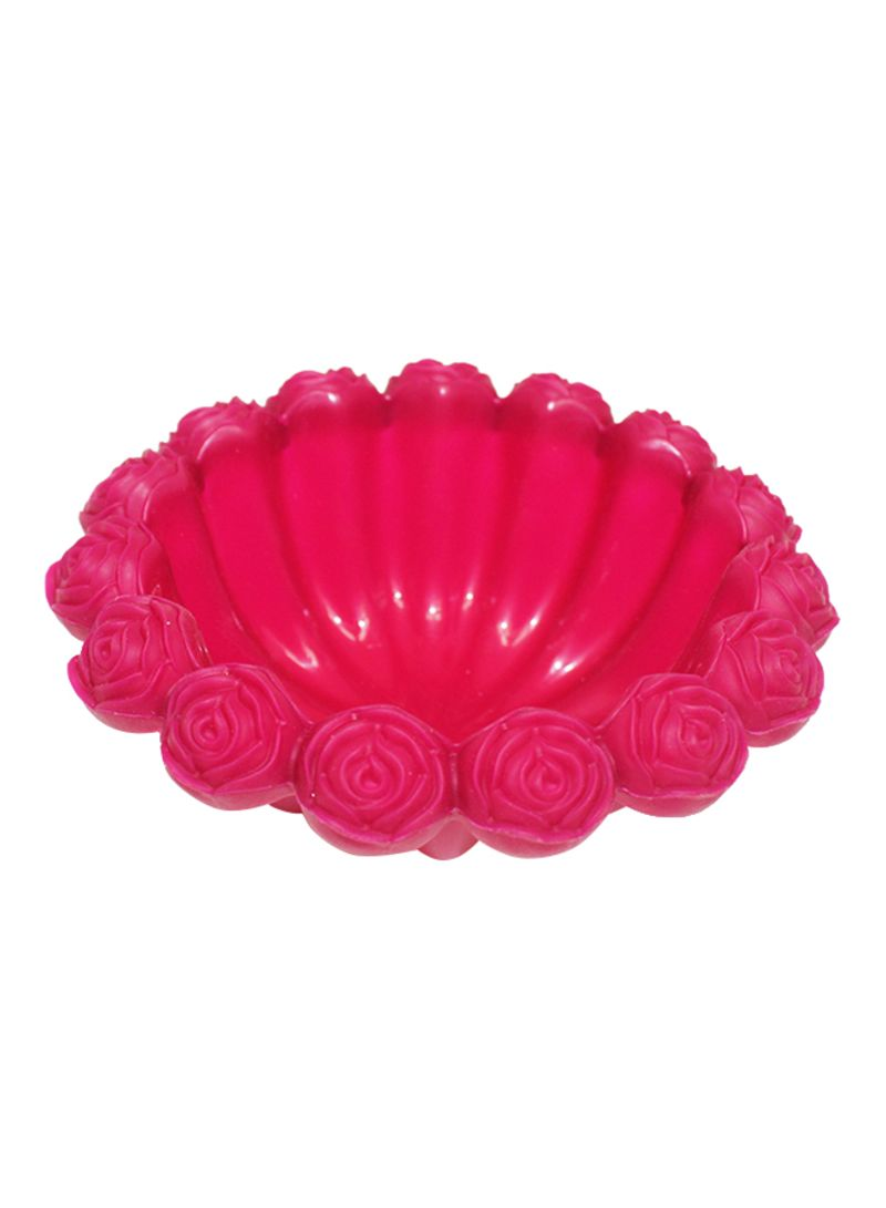 Silicone Bakeware Mould Pink 16x6x16 centimeter