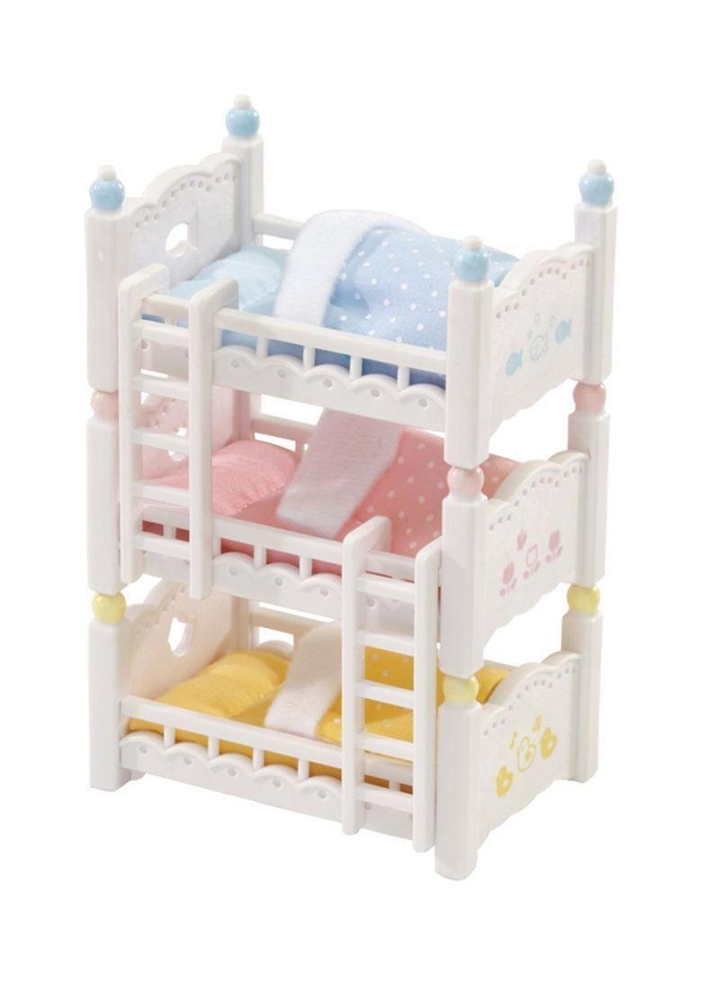 8-Piece Bunk Beds Set 2.5 inch