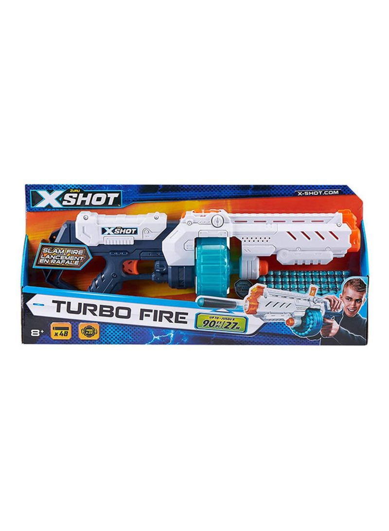 Turbo Fire With 48 Darts