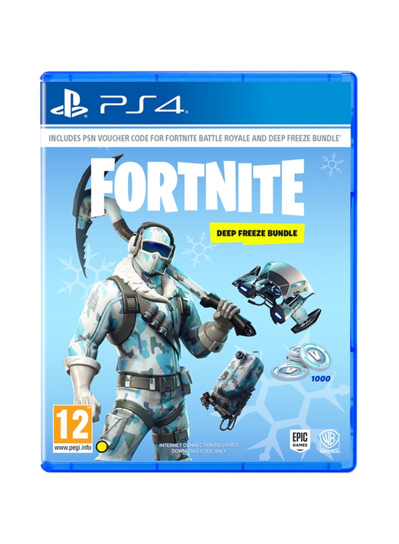 Fortnite Deep Freeze  PlayStation 4 By Epic Games