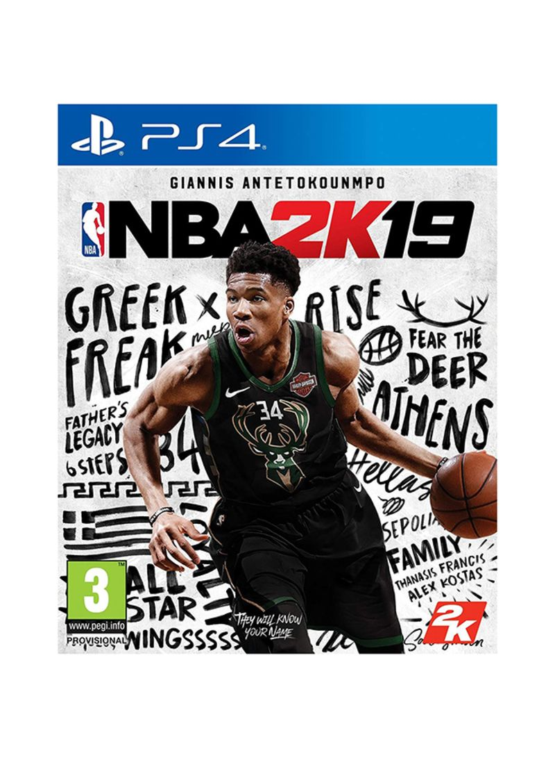 Nba 2K19 By 2K Games For PlayStation 4