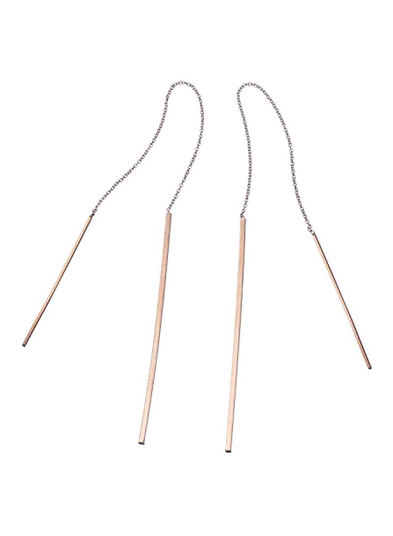925 Sterling Silver Ear Threads