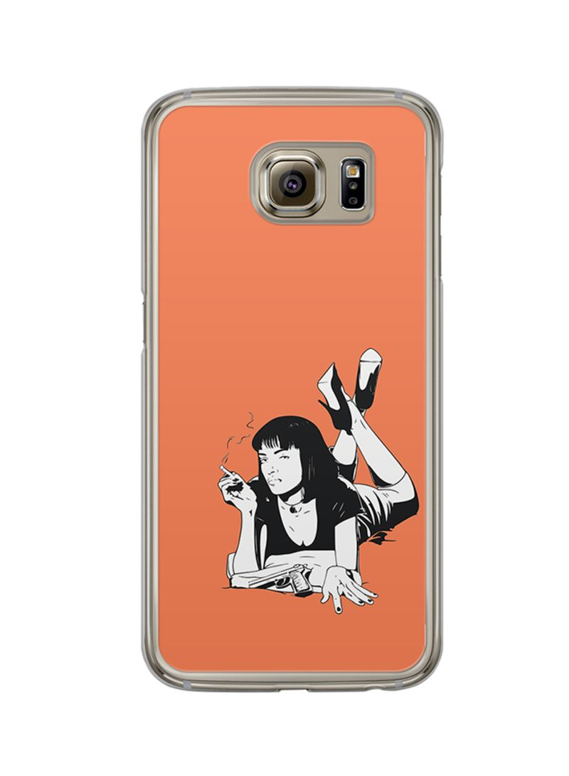 Protective Case Cover For Samsung Galaxy S6 Pulp Fiction