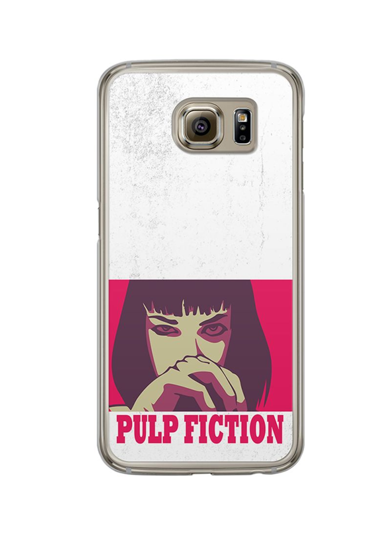 Protective Case Cover For Samsung Galaxy S6 Mia Wallace Pulp Fiction