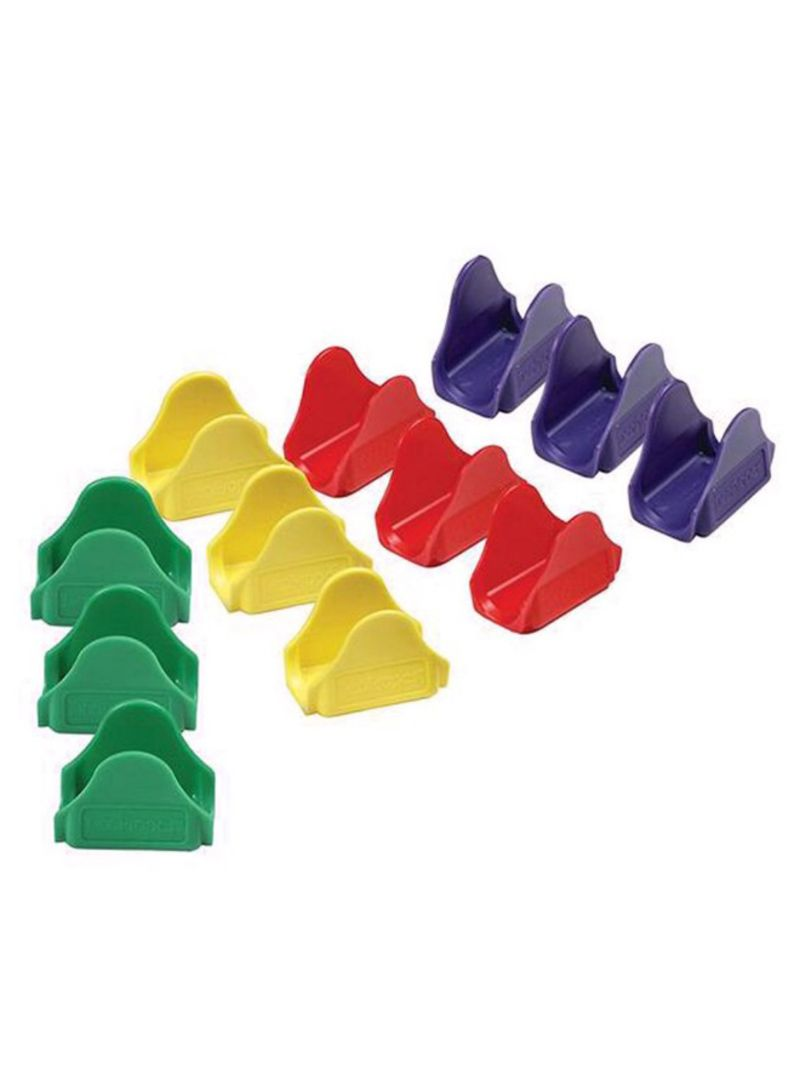 12-Piece Waveform Stand Mexican Pizza Clip Tool Set Multicolour 50 x 40 millimeter