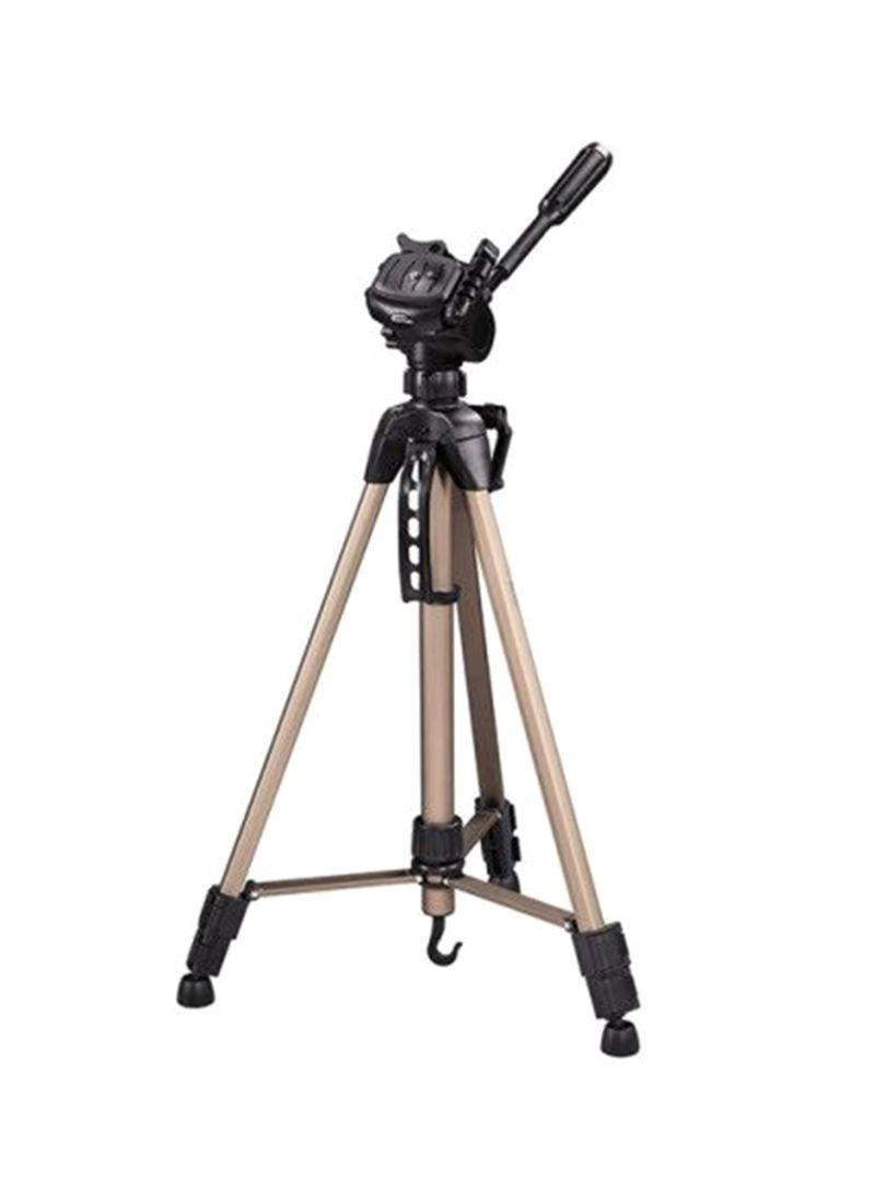 Portable Tripod For Canon, Nikon, Sony, Samsung, DSLR and Camcorders Black