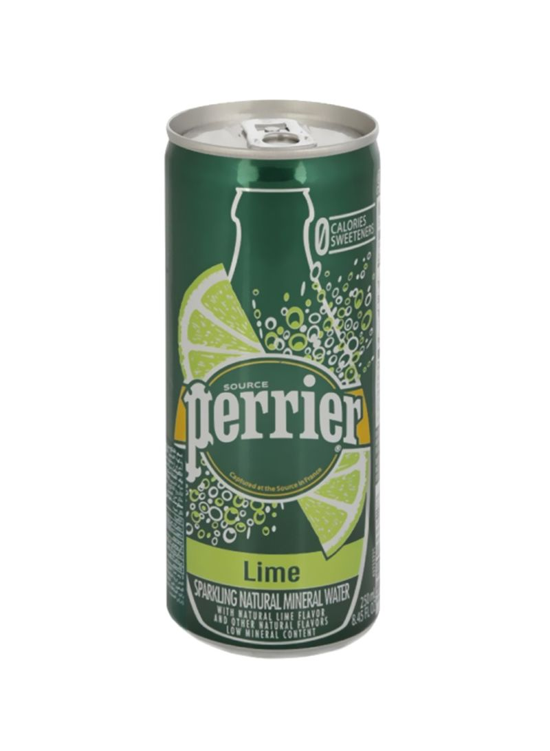 Lime Sparkling Mineral Water 250 ml