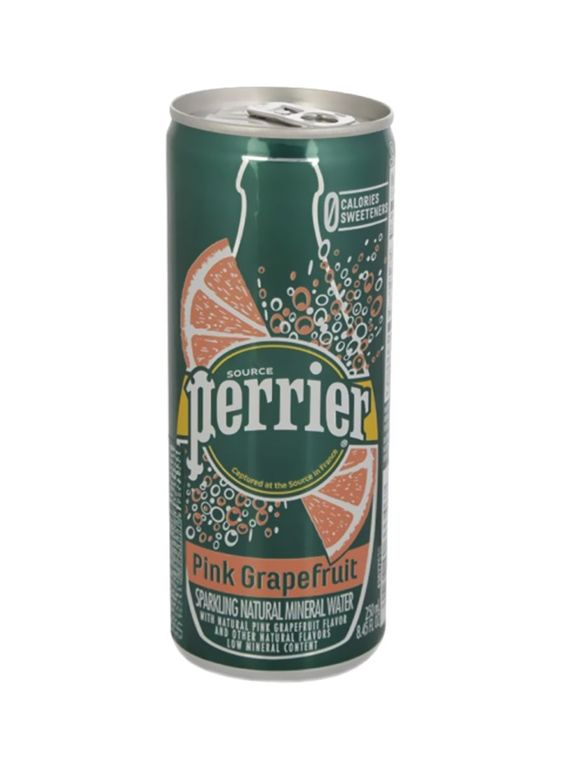 Sparkling Mineral Water Slim Can GrapeFruit 250 ml