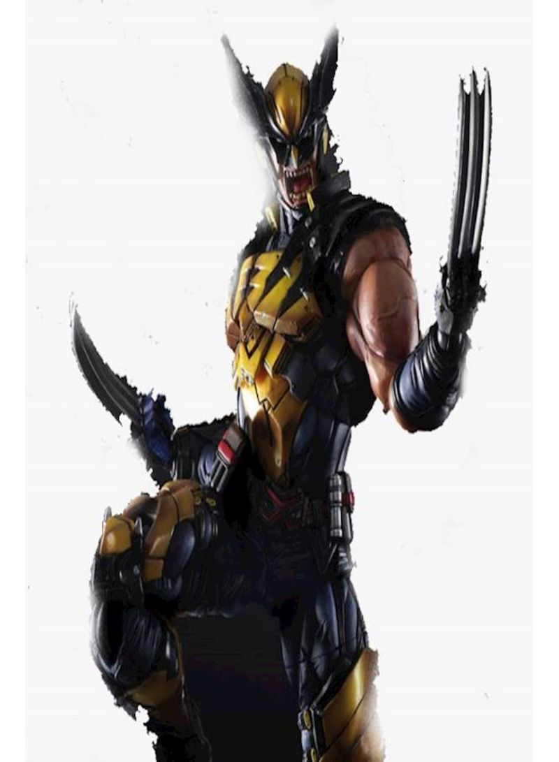 26cm Model toy pA changed from marvel hero Wolverine to hand-made toy Wolverine joints 26 centimeter