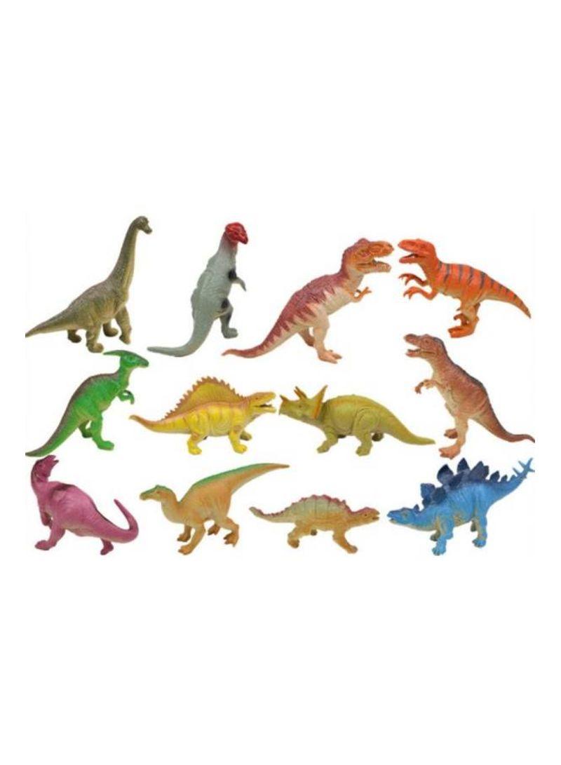 Jurassic Simulation soft glue will be called sound dinosaur toys 12 mixed cartoon soft plastic dinosaur models