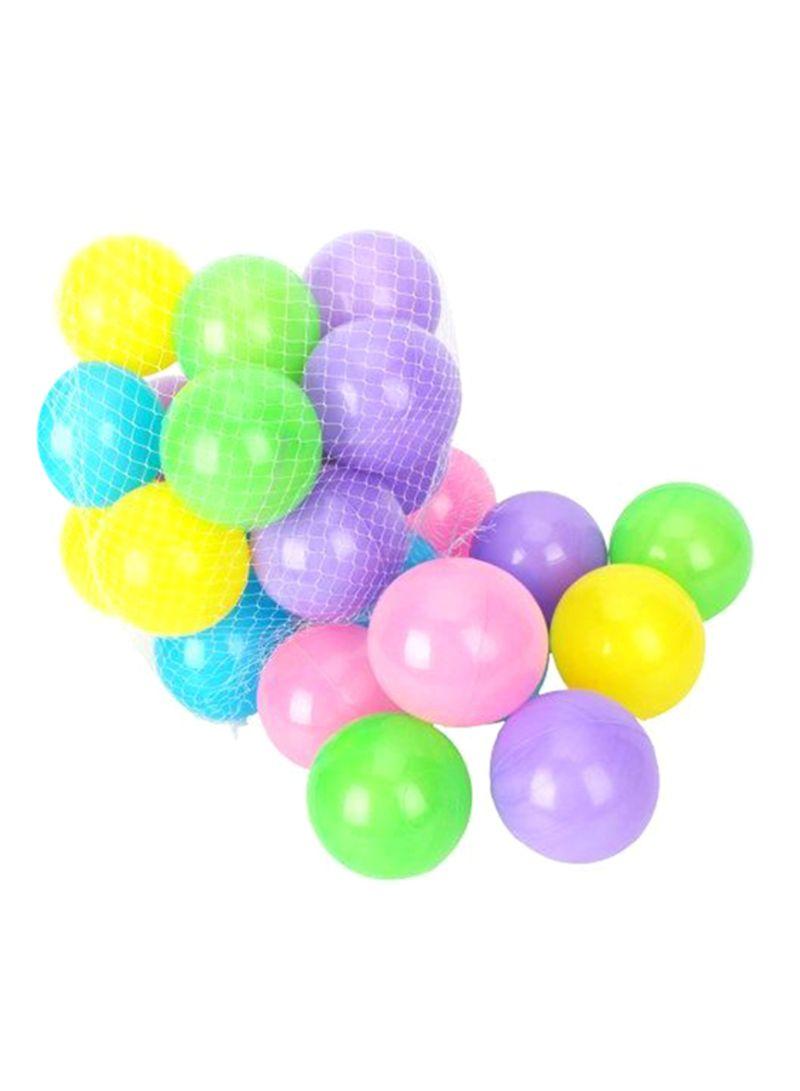 100 Pcs Colorful Soft Plastic Ocean Fun Ball Balls Baby Kids Tent Swim Pit Toys Game Gift 3.15