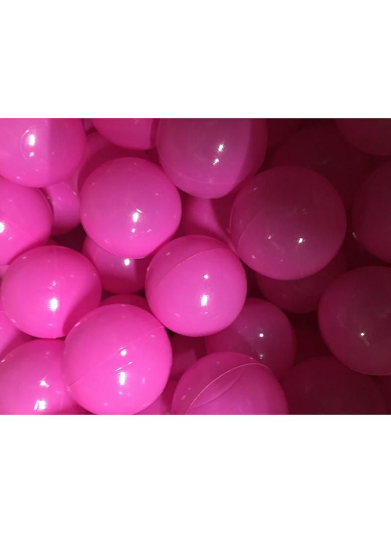 100 Pcs Pink Soft Plastic Ocean Fun Ball Balls Baby Kids Tent Swim Pit Toys Game Gift 7Cm