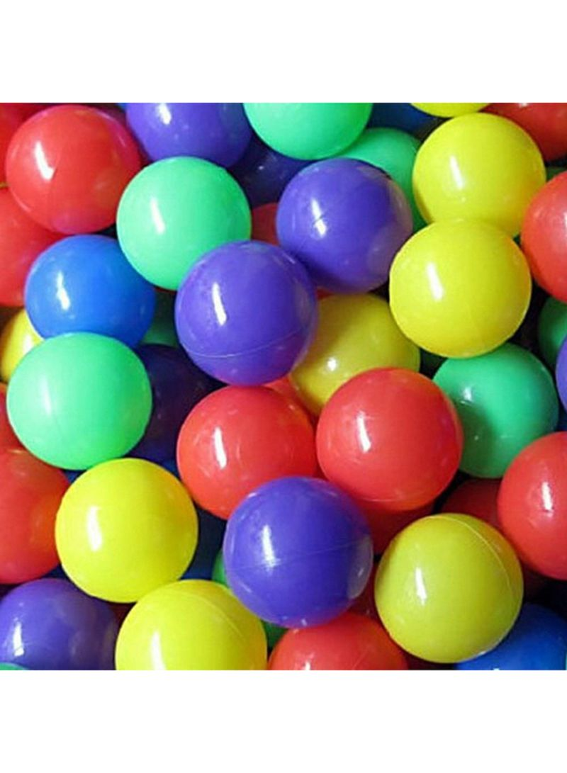 100 Pcs Colorful Soft Plastic Ocean Fun Ball Balls Baby Kids Tent Swim Pit Toys Game Gift 8Cm