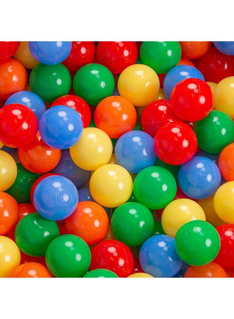 50 Pcs Colorful Soft Plastic Ocean Fun Ball Balls Baby Kids Tent Swim Pit Toys Game Gift 8Cm