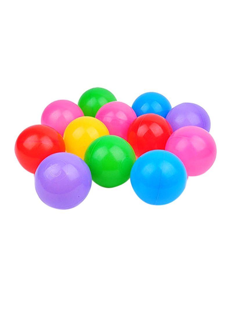 Cute Ocean Ball Eco Friendly Soft Plastic Tent Water Pool Ocean Wave Baby Toys 200Pcs Lot Beach Ball