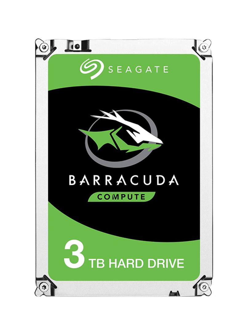 Barracuda Internal Hard Drives Silver/Grey 3 TB