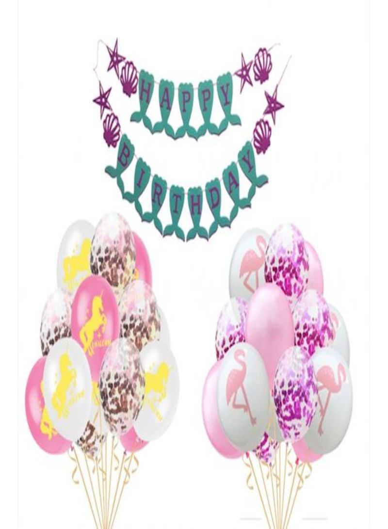 Birthday Celebration Decorative Party Balloons And Sets
