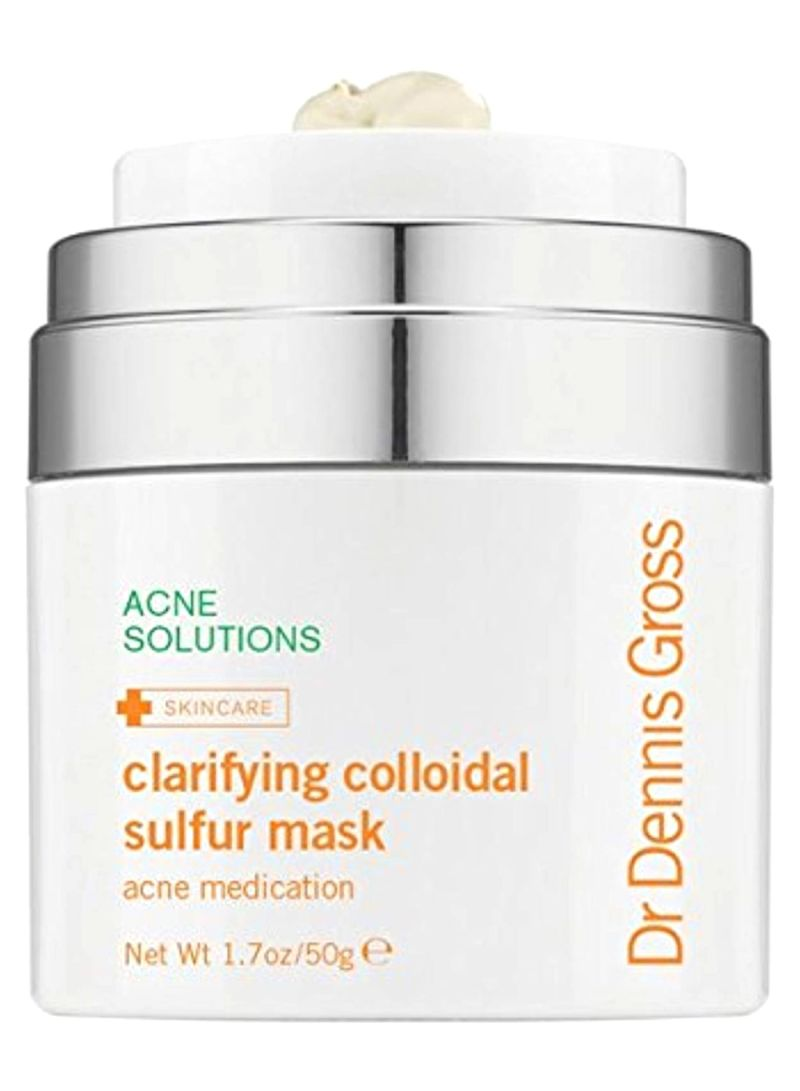 Skincare Clarifying Colloidal Sulfur Mask 1.7 ounce
