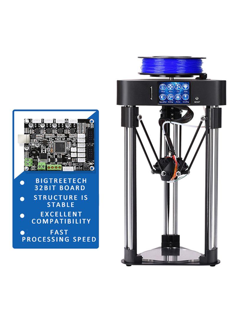 High Precision Home Mini Desktop 3D Printer Complete Machine Black