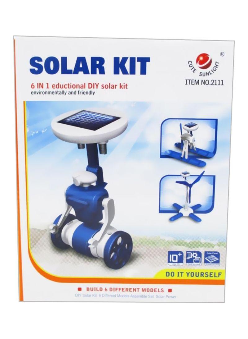 6-In-1 Educational Solar Energy Kit