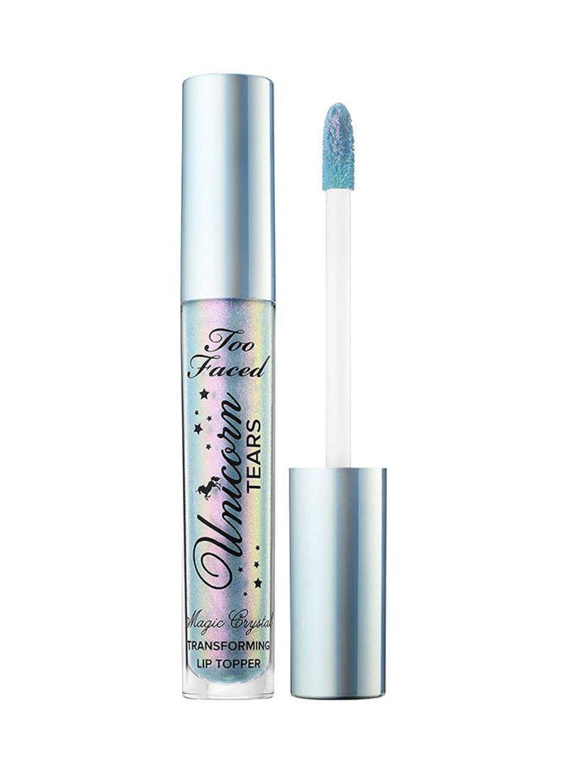 Magic Crystal Mystical Effects Lip Gloss Blue