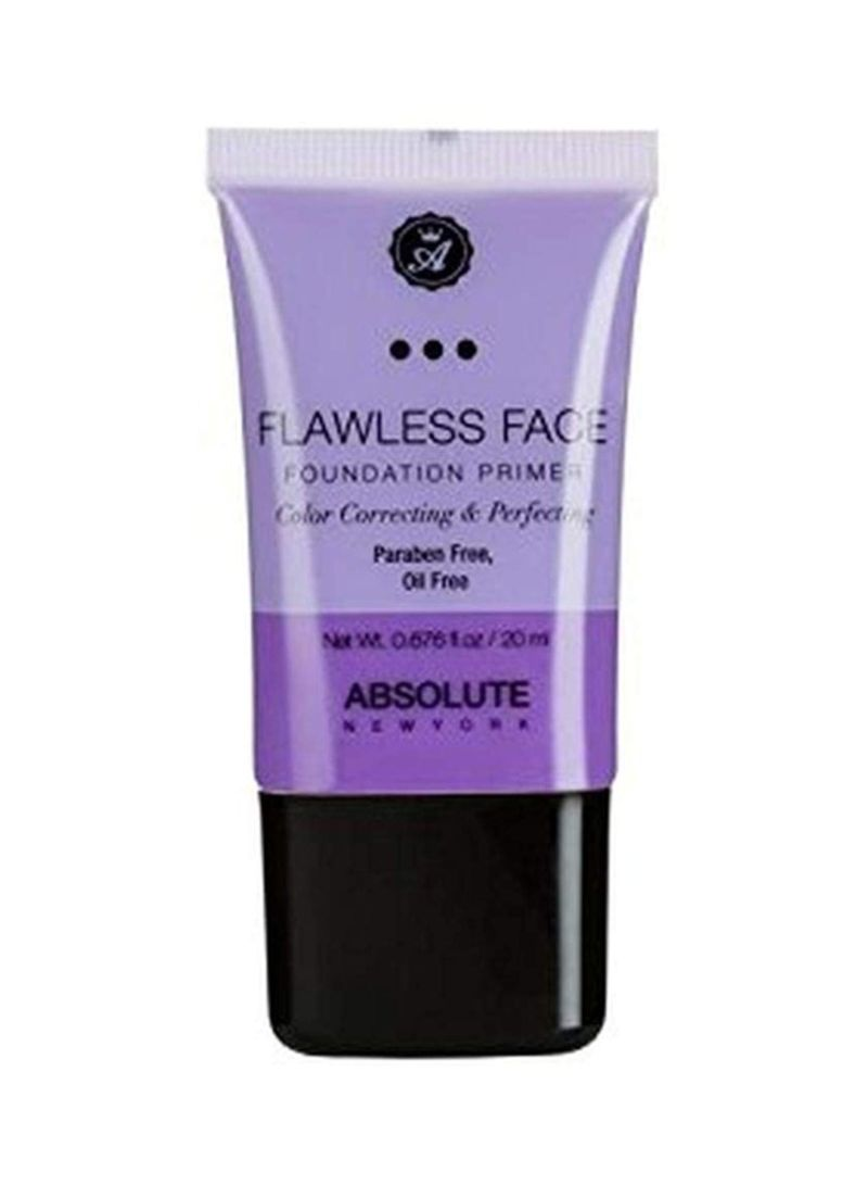 Flawless Face Foundation Primer Lavender
