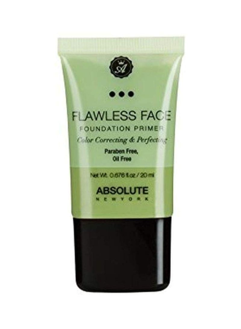 Flawless Face Foundation Primer Green