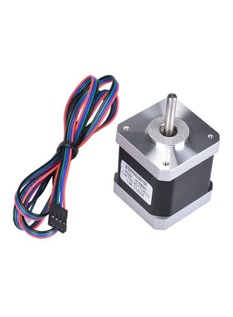 4-line Stepper Motor For 3D Printer Multicolour 0.37 kg
