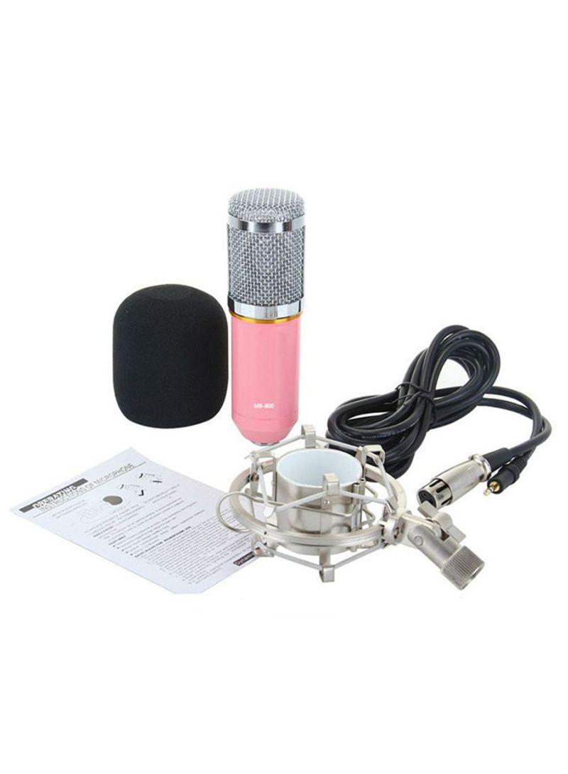 Condenser Sound Recording Microphone 4463100182 Multicolor