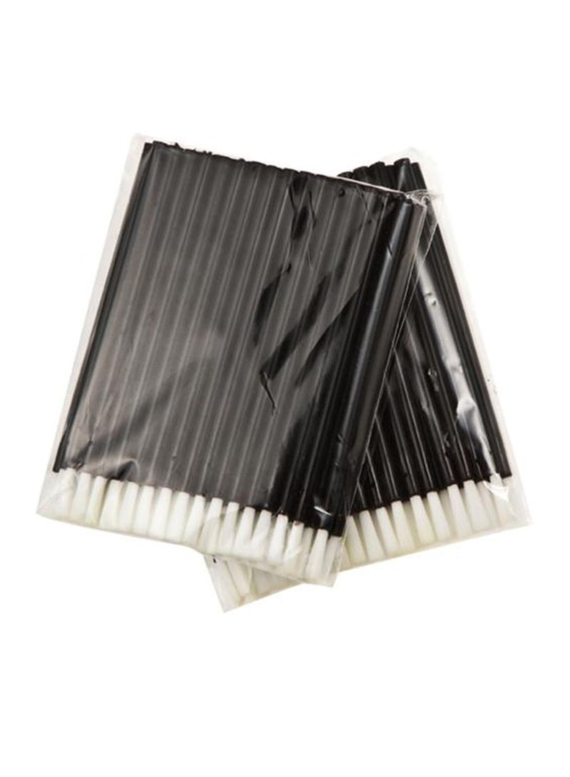 50 Pieces Disposable Eyelash Mascara Brush Black