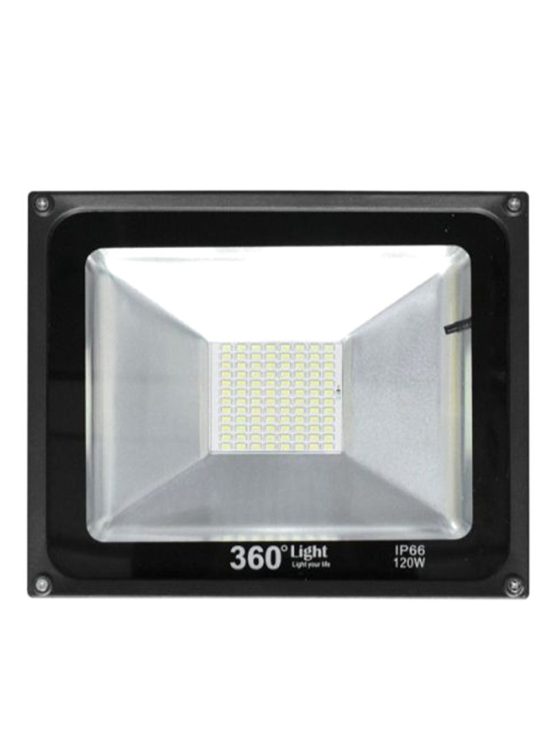 Solar LED Flood Outdoor Light Black/Cool White 4.5 kg