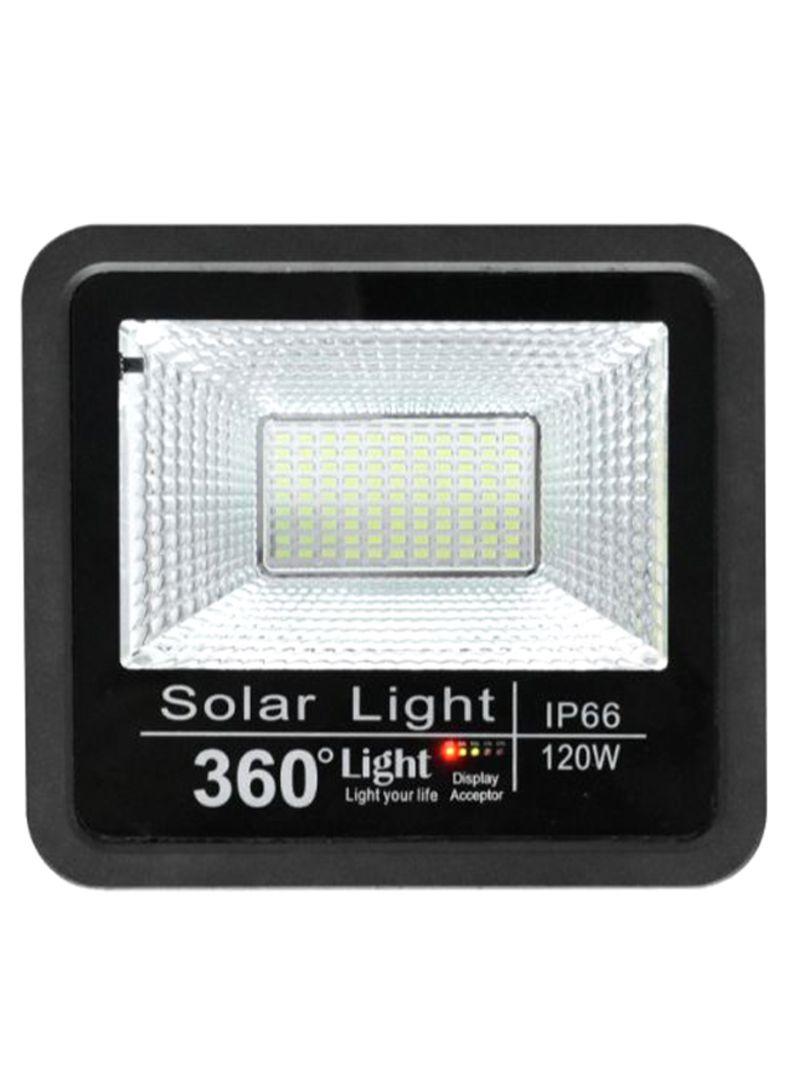 Solar LED Flood Outdoor Light Black/Cool White 4.2 kg