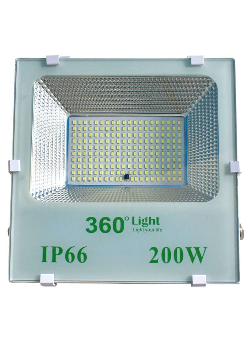 Solar LED Flood Outdoor Light Cool White 6.4 kg