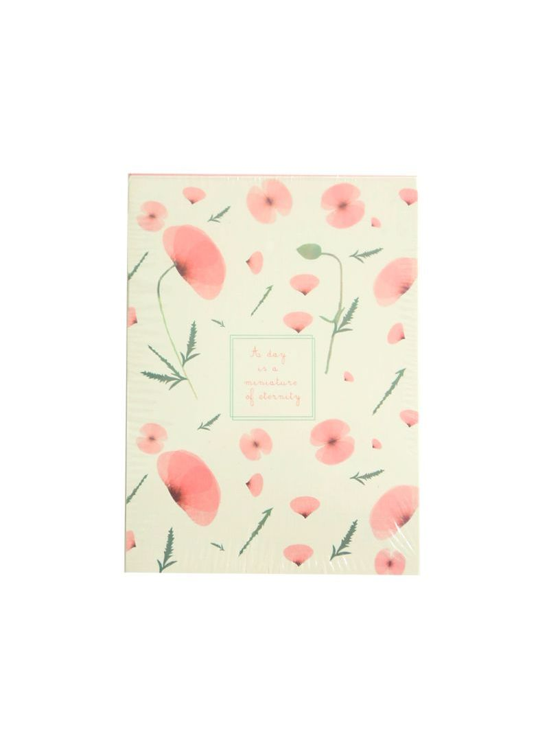 Tearable Sticky Note Pink/Cream