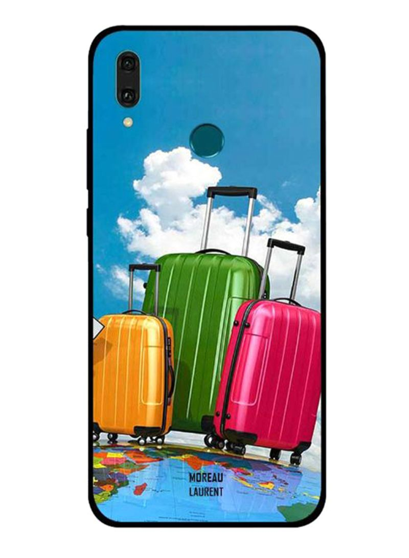 Travel Bags Always Packed Printed Protective Case Cover For Huawei Y9 2019 Multicolour