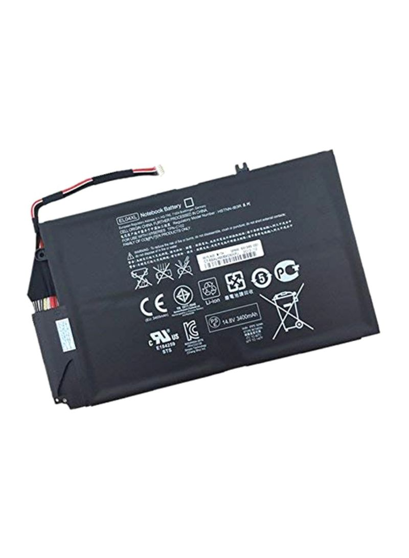 Replacement Laptop Battery For HP El04xl/4-1000 Notebook Black