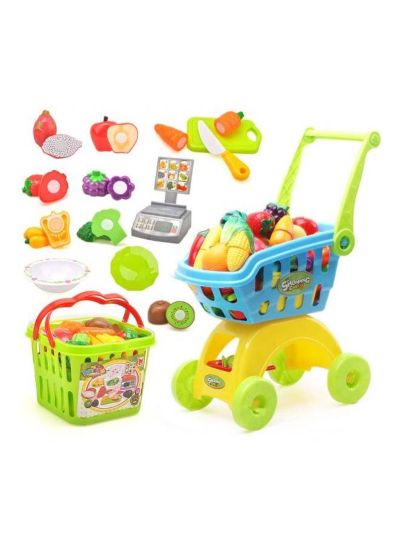 23-Pieces Fruits And Vegetables Cutting Cooking Toys