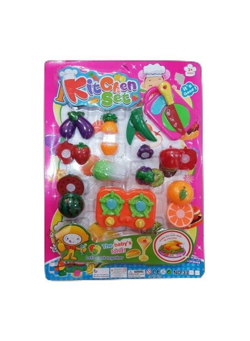 Kitchen Play Plastic Sets