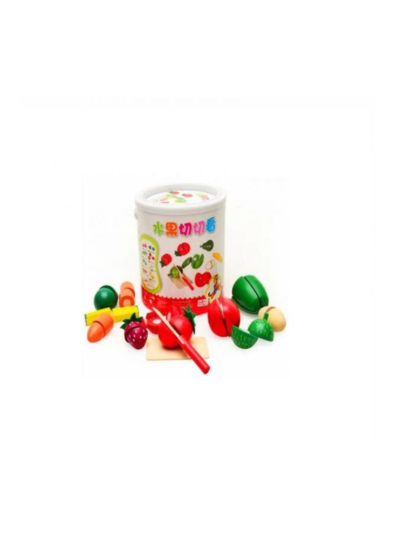 Simulation Of Fruits And Vegetables Educational Toys