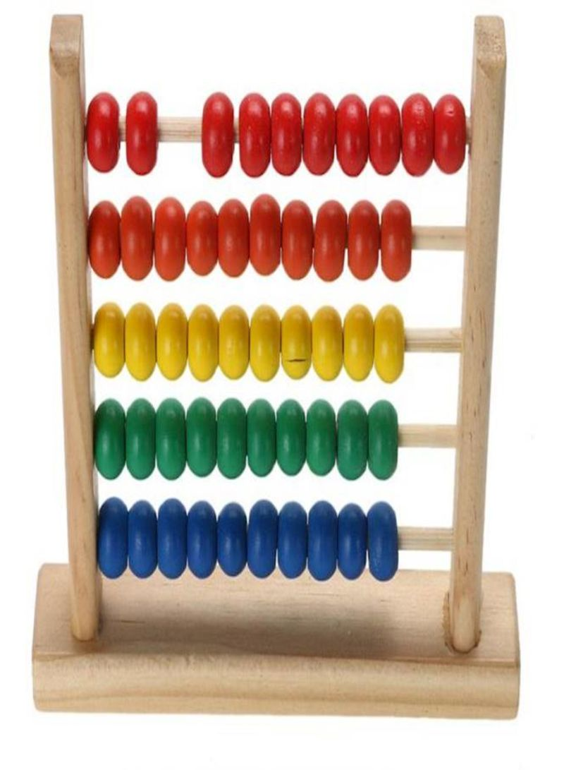 Baby Toys Wood Abacus Toy Learning Educational Kids Math Toy For Childs