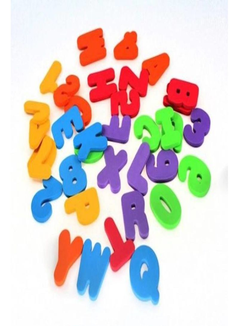 Bathroom Toys 36-Piece Letters & Numbers  Baby Full Set