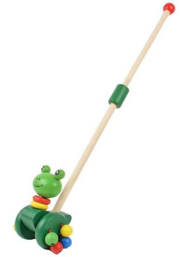 Push Toy Wooden Walking Toys For Baby Toddlers Kids And Children