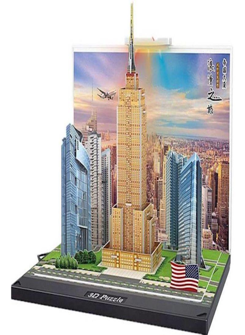 3D Puzzle Architecture Building Model