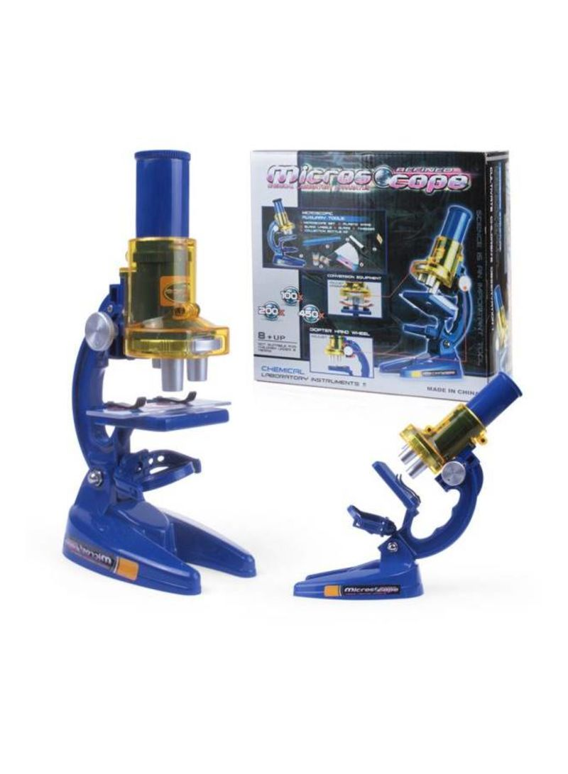 Children'S Microscope Student Science Educational Microscope Toy 100X 200X 450
