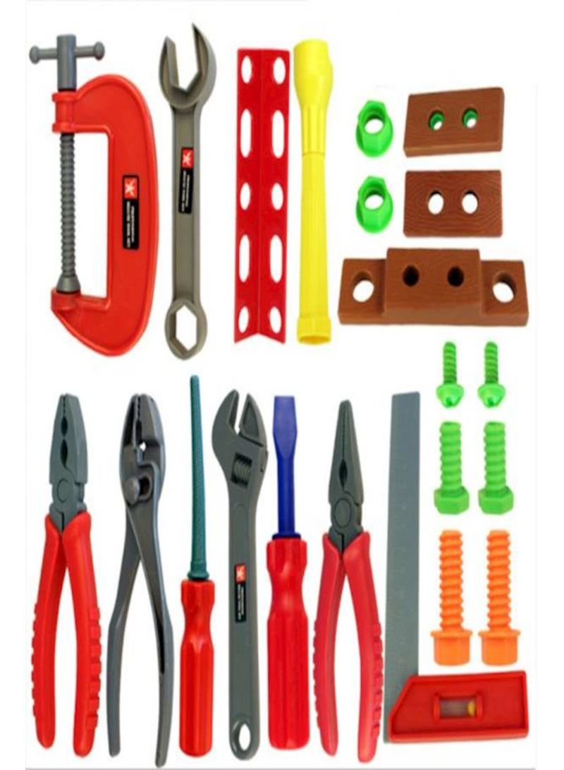 Pretend To Play With Tools Toy Set For Children And Boys