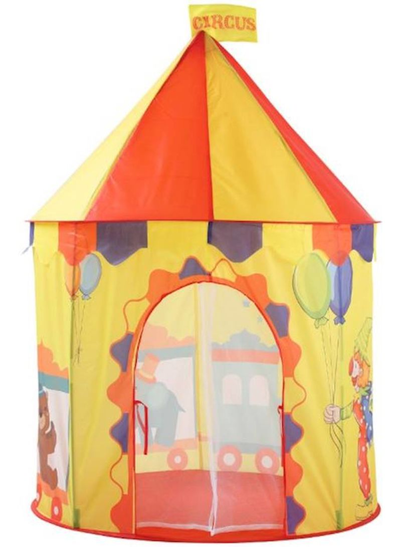 Children'S Toys Indoor And Outdoor Colourful Cartoon Bear Style Yurt Tent Approximately 100*100*135 centimeter